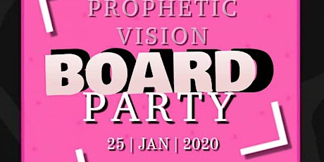 Prophetic Vision Board Party 2020 billets