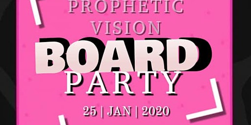 Prophetic Vision Board Party 2020