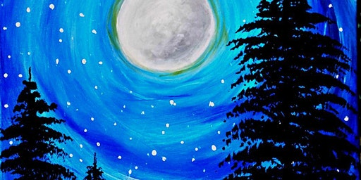 Paint Wine Denver Celestial Shower Fri Feb 21st 6:30pm $35