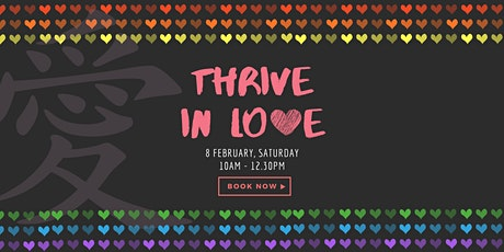 Thrive in Love tickets