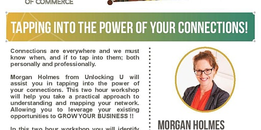 Tapping into the POWER of your connections !!
