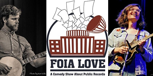 A Night of Comedy and Bluegrass About Public Records, in Asheville