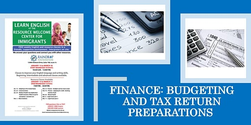 Finance: Budgeting and Tax Return Preparation
