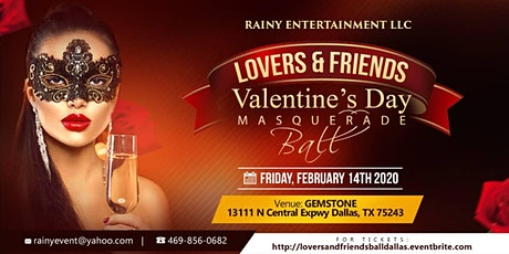 Lovers and Friends Valentines Day Masquared Ball tickets