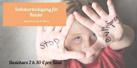 Selbstverteidigungskurs für Kinder ab 6 Jahre Tickets