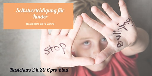 Selbstverteidigungskurs für Kinder ab 6 Jahre