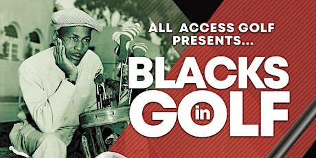 Blacks In Golf tickets