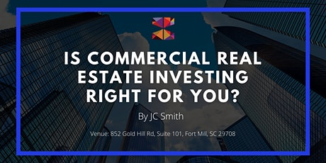 Is Commercial Real Estate (CRE) Investing Right For You? tickets