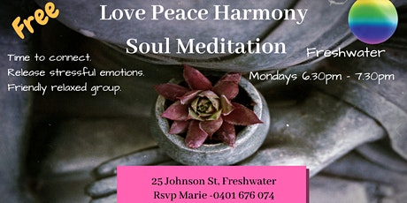Meditation - Love Peace Harmony Soul Meditation tickets