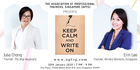 APTS Workshops: Keep Calm and Write On! tickets