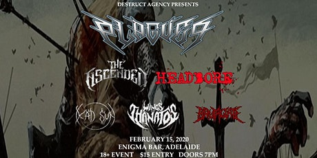 Destruct Agency Presents - Metal in Adelaide Feb 15th tickets