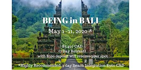 BEING in Bali - Self-Love & Awakening Spiritual Retreat tickets