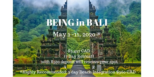 BEING in Bali - Self-Love & Awakening Spiritual Retreat