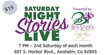 Saturday Night Stories Live tickets