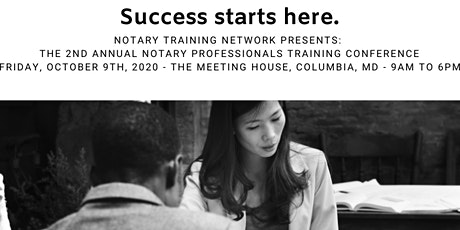 2nd Annual Notary Professionals Training Conference tickets