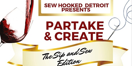 Partake & Create The Sip And Sew Edition tickets