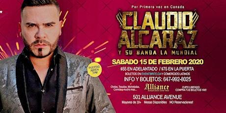 CLAUDIO ALCARAZ y su Banda La MUNDIAL en concierto tickets