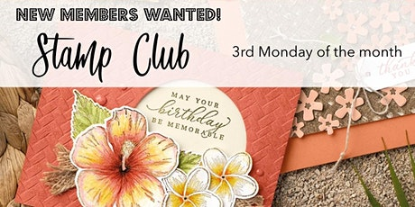 Stamp Club: Cardmaking Night tickets