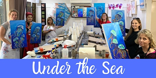 Under the Sea Acrylic Painting Workshop