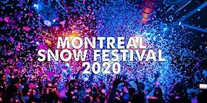 MONTREAL SNOW FESTIVAL | SAT JAN 18