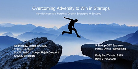Overcoming Adversity to Win in Startups tickets