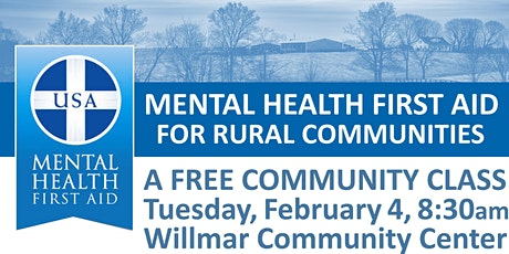 Mental Health First Aid for Rural Communities tickets