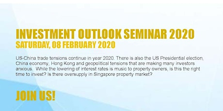 SingCapital Investment Outlook Seminar 2020 tickets