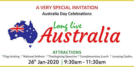 Australia Day Celebrations 2020 tickets