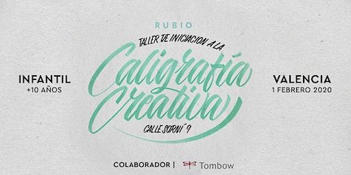 ✍️ Taller INFANTIL de Caligrafía Creativa. RUBIO - 1Febrero  - Valencia