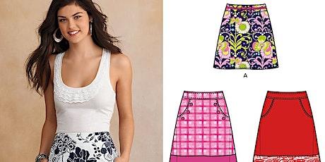 Beginner Dressmaking: A-line Skirt tickets