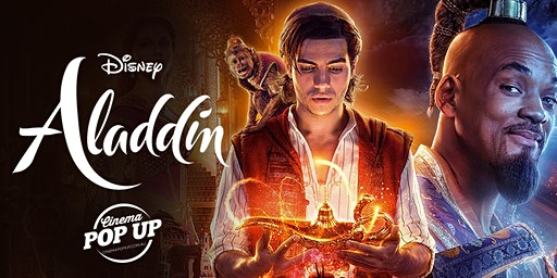 Cinema Pop Up - Aladdin - Kilmore