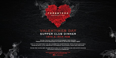 Valentines at Forester FV tickets