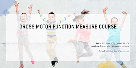Gross Motor Function Measure Course tickets