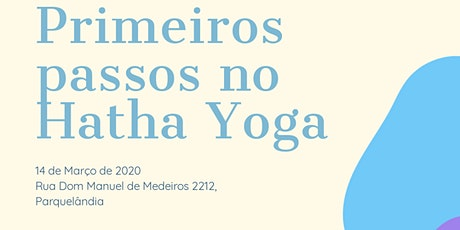 Primeiros Passos no Hatha Yoga ingressos