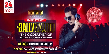 BALLY SAGOO Live at CARGO BAR, Darling Harbour tickets