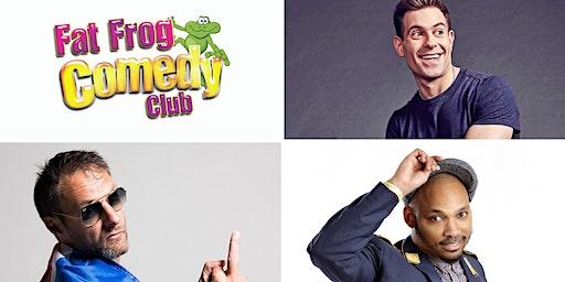 Fat Frog Comedy with Simon Brodkin & Leo Kearse
