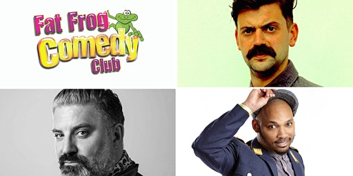 Fat Frog Comedy with Fin Taylor & Nico Yearwood