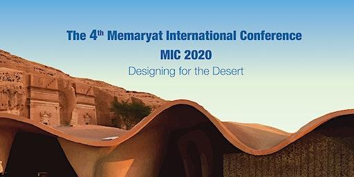 The 4th Memaryat International Conference MIC 2020