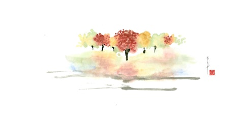 Landscape Of The Four Seasons - Japanese Ink Painting Workshop tickets