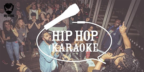 Hip Hop Karaoke @ BrewDog AF Bar tickets
