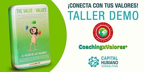 Taller Demo CoachingxValores Mallorca entradas