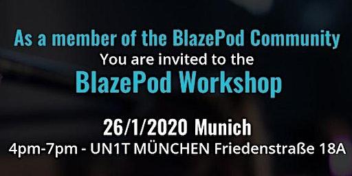 BlazePod Workshop Munich January 2020