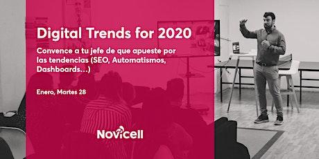 Digital Trends 2020. Convence a tu jefe de que apueste por las tendencias entradas