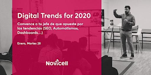 Digital Trends 2020. Convence a tu jefe de que apueste por las tendencias