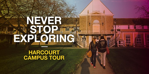 Oxford Brookes Campus Tour - Harcourt Hill - 30 January 2020