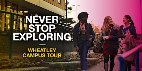 Oxford Brookes Campus Tour - Wheatley - 28 February 2020 tickets