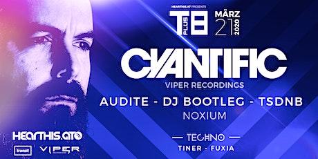 hearthis.at presents: T+8 feat. Cyantific (Viper), Audite, Bootleg, TSDNB Tickets