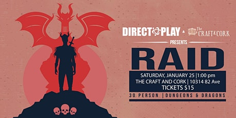 RAID - 30 Person Dungeons and Dragons (Winter) tickets