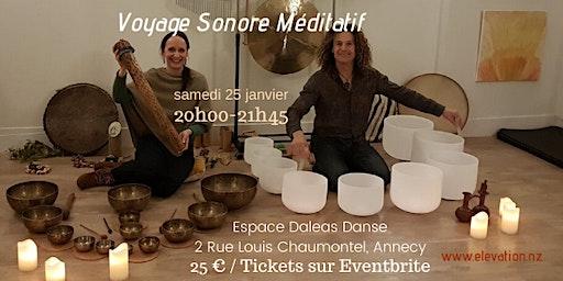Voyage Sonore Méditatif Annecy