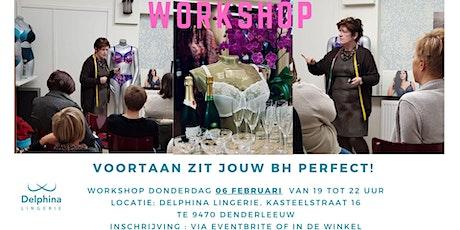 Workshop / Voortaan geen lingerie miskopen meer. tickets